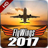 Flight Simulator 2017 FlyWings HD