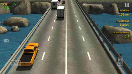 заработай денег в Traffic Racer