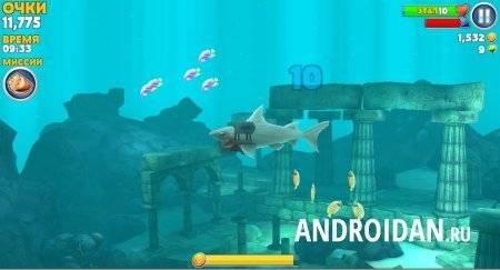 игра про акулу Hungry Shark Evolution