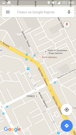 Google Карты для андроид