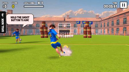 SkillTwins Football Game
