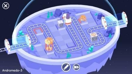 Cosmic Express развозим пассажиров