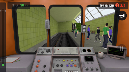 Поезд Метро 3D PRO