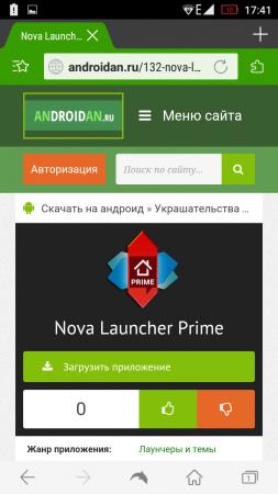 мобильный браузер дельфин