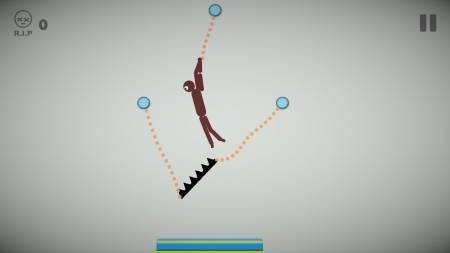 Stickman : Rope Escape