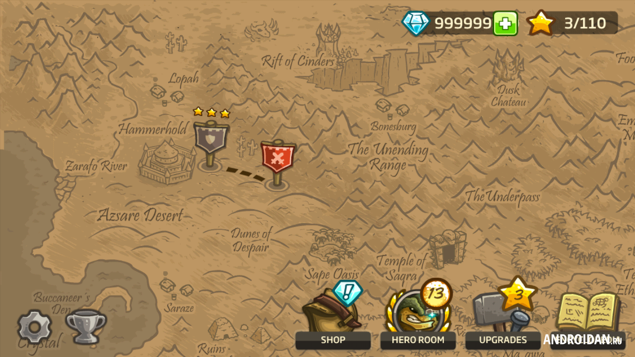 Kingdom Rush 2 - Frontiers Hacked - Hacked Online Games