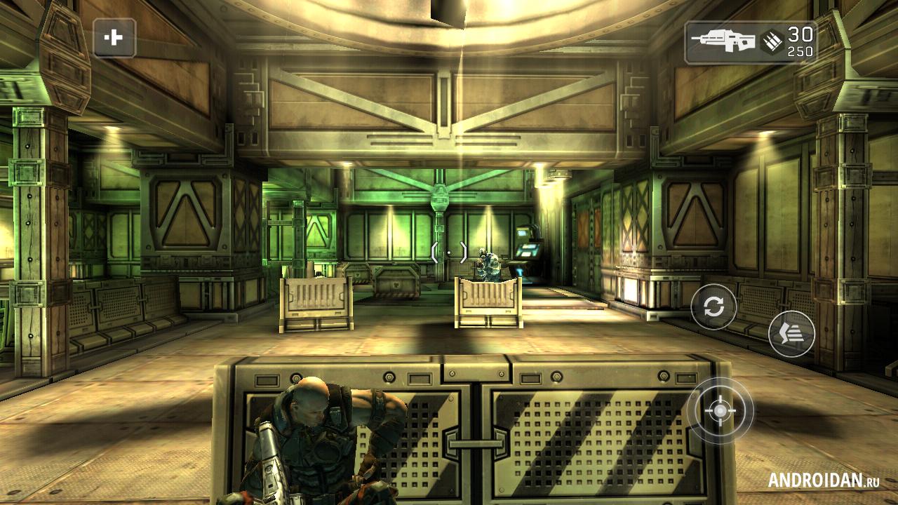 Скачать игру Shadowgun на Андроид
