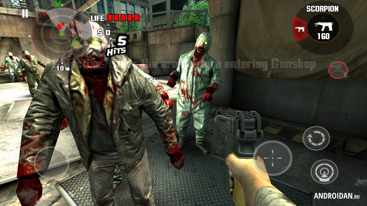 DEAD TRIGGER на андроид - top-android.org