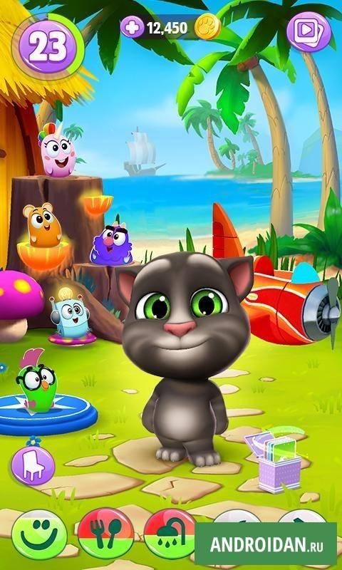 Игра говорящий кот том 2 скачать talking tom cat 2 бесплатно.